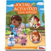 Jocuri si activitati ca-n povesti (din cartile Plusica, Jake si Sofia) - 120 de pagini cu activitati antrenante