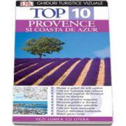 Ghid turistic vizual Provence si Coasta de Azur - Colectia Top 10 (Editia a III-a)