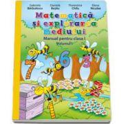 Matematica si explorarea mediului. Manual pentru clasa I. Semestrul I (Contine CD cu editia digitala)