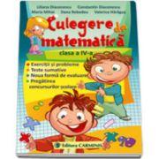 Culegere de matematica clasa a IV-a (Exercitii si probleme, Teste sumative, Noua forma de evaluare)