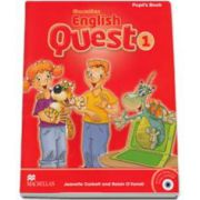 English Quest 1, Level 1 - Pupils Book Pack (Animated Stories and Songs CD-ROM)