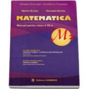 Matematica profil M2, manual pentru clasa a XII-a, Marius Burtea si Georgeta Burtea