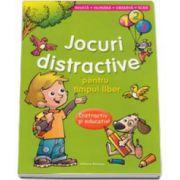 Jocuri distractive pentru timpul liber. Distractiv si educativ. Invata, numara, observa, scrie (Verde)