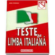 Teste de limba italiana (Aida Ferencz)