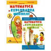 Matematica si explorarea mediului, pentru clasa I - Semestrul I si II (Alexandra Manea)