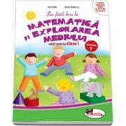 Matematica si explorarea mediului, caiet pentru clasa I - Semestrul 1 (Anina Badescu)