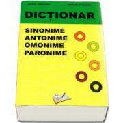 Dictionar de sinonime, antonime, omonime, paronime
