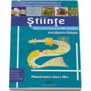 Stiinte, manual pentru clasa a XII-a. Filiera teoretica, profil umanist, specializarea FILOLOGIE