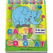 Carte de colorat 5-6 Gradinita (Colectia Campionii)