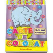 Carte de colorat 3-4 Gradinita (Colectia Campionii)