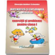 Matematica si explorarea mediului. Exercitii si probleme pentru clasa a I-a (Georghe Schneider)