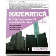 Matematica, M2. Culegere de probleme pentru clasa a XI-a - Marius Burtea si Georgeta Burtea