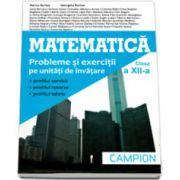 Matematica, M2. Culegere de probleme pentru clasa a XII-a  - Marius Burtea si Georgeta Burtea