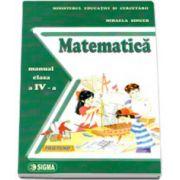 Matematica. Manual pentru clasa a IV-a, Mihaela Singer