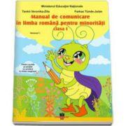Manual de comunicare in limba romana pentru minoritati clasa I - Volumul I (Pentru scolile si sectiile cu predare in limba maghiara)