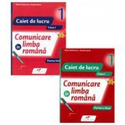 Comunicare in limba romana, caiet de lucru, pentru clasa I. Set 2 caiete - Semestrele I si II - Autori, Iliana Dumitrescu si Daniela Barbu