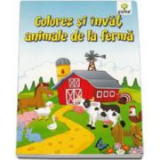 Colorez si invat animale de la ferma 3-7 ani