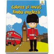 Colorez si invat limba engleza 3-7 ani