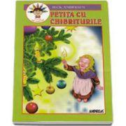 Fetita cu chibriturile - Carte de colorat