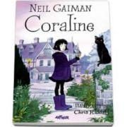 Neil Gaiman, Coraline - Ilustratii de Chris Riddell