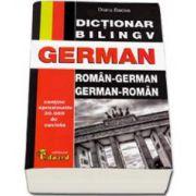 Dictionar bilingv German. Roman-German si German-Roman. Contine peste 30.000 de cuvinte
