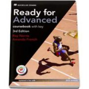 Ready For Advanced. Coursebook with key, 3rd Edition (Updated in line with CAE 2015 revisions MPO available)