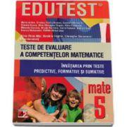 Alina Elena Nitu, Teste de evaluare a competentelor matematice. Invatarea prin teste predictive, formative si sumative clasa a V-a