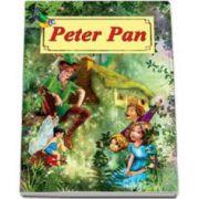 Peter Pan. Carte ilustrata, format A4. Repovestire de Raluca Ghentulescu