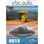 CD - ABC Auto v. 3. 0 - Editie 2015 - Pentru categoriile C1, C, D1, D, C1E, CE, D1E, DE