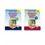 Matematica si explorarea mediului, manual pentru clasa I Semestul I si Semestrul al II-lea. Contine editia digitala - Anina Badescu