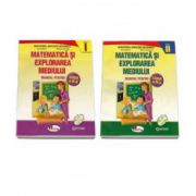 Matematica si explorarea mediului, manual pentru clasa a II-a Semestrul I si Semestrul al II-lea. Contine editia digitala (Anina Badescu)