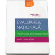 Eduard Dancila, Evaluare nationala 2015. Matematica si Stiintele naturii pentru clasa a VI-a