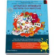 Activitati integrate. Fise de lucru interdisciplinare pe unitati tematice si saptamani. Caiet pentru clasa pregatitoare - Semestul al II-lea