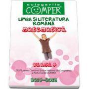 Limba si literatura romana si matematica pentru clasa a IV-a. Teste pentu Concursul Scolar de Competenta si Performanta COMPER 2014-2015