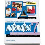 Matematica 2000 Consolidare 2014-2015 algebra, geometrie clasa a VII-a partea a II-a, Semestrul al II-lea (Anton Negrila)