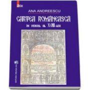 Ana Andreescu, Cartea romaneasca in veacul al XVIII-lea