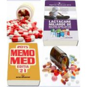 Pachetul Farmacistului 2015. Agenda Medicala 2015 si MemoMed 2015 (Editia 21)