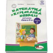 Matematica si explorarea mediului, caiet pentru clasa a II-a - Semestrul 2 (Anina Badescu)