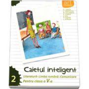 Caietul inteligent, pentru clasa a V-a, semestrul II. Literatura. Limba romana. Comunicare