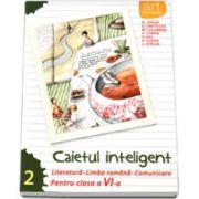 Caietul inteligent, pentru clasa a VI-a, semestrul II. Literatura. Limba romana. Comunicare