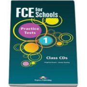 Curs de limba engleza FCE for Schools Practice Tests 1 Class CD (5 CDs). CD-ul pentru clasa - Editie revizuita 2015