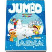 Jumbo. Iarna - Carte de colorat