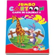 Jumbo cartoon - Carte de colorat 6