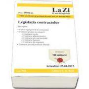 Legislatia contractelor. Actualizat la 25. 01. 2015 - Cod 558