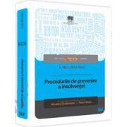 Procedurile de prevenire a insolventei - Coordonatori - Nicoleta Tandareanu, Florin Motiu