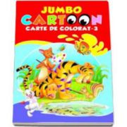 Jumbo cartoon - Carte de colorat 3