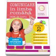 Arina Damian, Comunicare in limba romana. Caiet de lucru pentru clasa a II-a