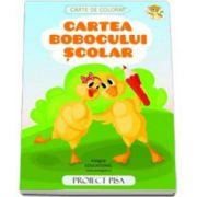 Cartea bobocului scolar - Proiect PISA (Carte de colorat)