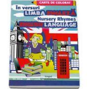 Limba engleza in versuri - Carte de colorat