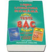 Mariana Badea, Bacalaureat Oral si Scris - Teste. Limba si literatura romana. Carti Antistres pentru un Bacalaureat Confortabil